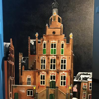 Oude Stadhuis Culemborg Winter